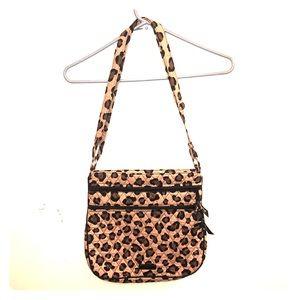 Vera Bradley cheetah purse